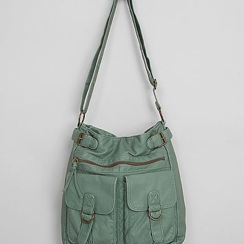 T-Shirt & Jeans Washed Crossbody Purse