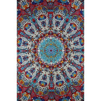 Psychedelic Sunburst Glow Tapestry Wall Hanging Tablecloth 60x90 Beach sheet