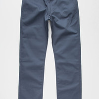 Rvca Week-End Mens Chino Pants Midnight Blue  In Sizes