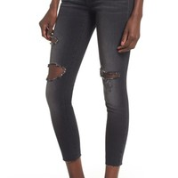 STS Blue Emma Ripped Crop Jeans (Canal Canyon)   Nordstrom