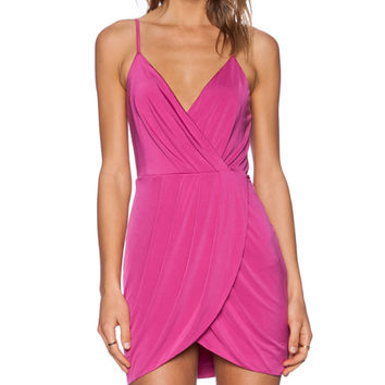 NBD x Naven Twins Wink Dress in Berry | REVOLVE