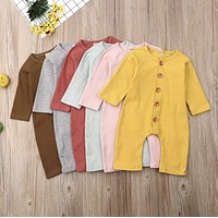 Mustard 12 month custom ribbed baby outfit