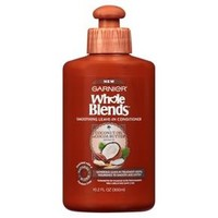 Garnier® Whole Blends™ Coconut Oil & Cocoa Butter Extracts Smoothing Leave In Conditioner - 10.2oz : Target