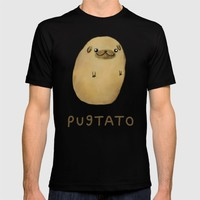 Pugtato T-shirt by Sophie Corrigan