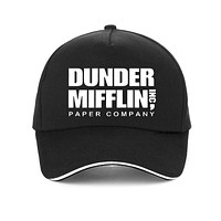 Company cap Men Women fashion The Office TV Show Dunder Mifflin Paper Baseball caps Brand Unisex Dad hat snapback gorra hombre
