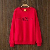 Armani Exchange Woman Men Top Sweater Pullover