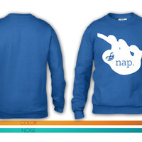 Nap Sloth crewneck sweatshirt