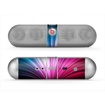 The Swirly HD Pink & Blue Lines Skin for the Beats by Dre Pill Bluetooth Speaker
