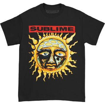 Sublime Men's  New Sun T-shirt Black