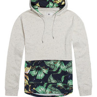 On The Byas Atlas Neps Pieced Hooded Shirt at PacSun.com