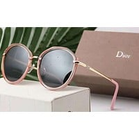 Dior Women Fashion Popular Summer Sun Shades Eyeglasses Glasses Sunglasses G-A-SDYJ