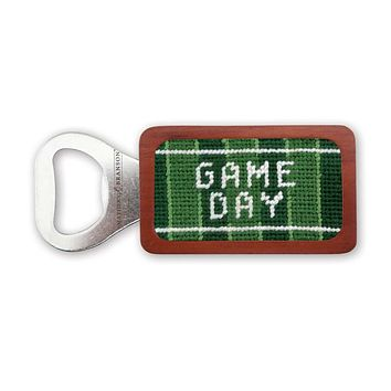 Game Day Needlepoint Bottle Opener by Smathers & Branson