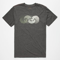 Rvca Horizon Mens T-Shirt Black  In Sizes