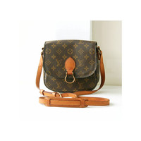auth Louis Vuitton Monogram st.cloud shoulder bag vintage authentic rare purse w.germany 1990