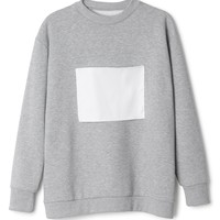 Huge logo patch sweatshirt | Sweaters | Weekday.com