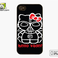 Hello Darth Vader iPhone 4S Case Cover by Avallen