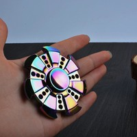 Pattern Colorful  Hand TriSpinner Fidgets Toys  A