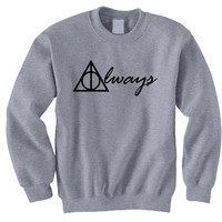 Harry Potter Book Movie Always Inspired Sweatshirt T-shirt
