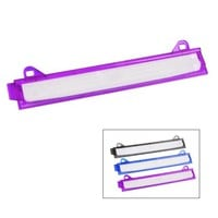 Eagle Ring Binder 3 Hole Punch, 5 Sheet Capacity, With Chip Tray, 3 Colors for Choice (Purple)