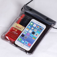 28.5X17.5CM Transparent 3 Layer Seal Waterproof Bag For Swimming Drifting Spa Can Put Your Phone Wallet Key In it Free Shipping