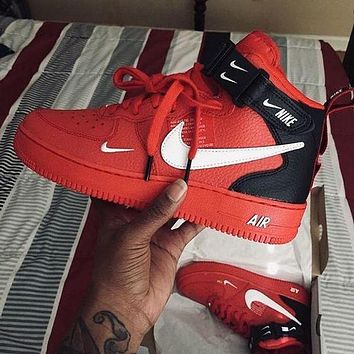 NIKE air force 1 af1 pro men's and women's high-top basketball shoes sneakers