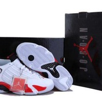 AIR JORDAN 14 (WHITE / RED) I