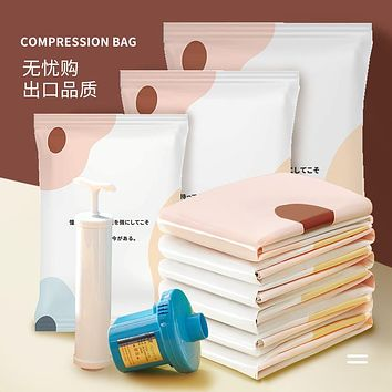 Vacuum Compressed Bags Quilts Quilt Clothes Finishing Bedding Receive Thickening Oversized Bag Of Clothes In The Bag