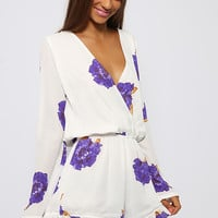 Infatuation Playsuit - Floral