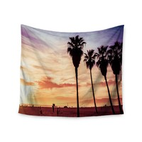 """Sunset Beach"" Natural Beauty Trendy Boho Wall Tapestry"