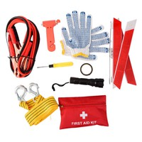 10 PCS Car Emergency Roadside Kit