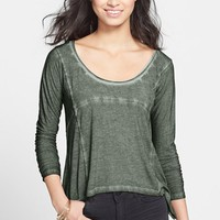 Rubbish® Seamed High/Low Tee (Juniors) | Nordstrom