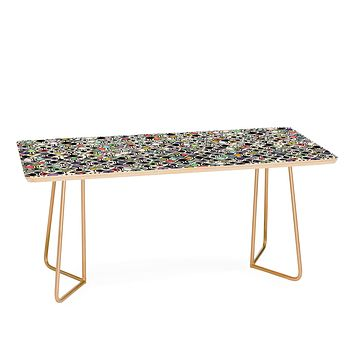Sharon Turner Cellular Ombre Coffee Table