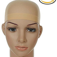 ASX Design Wig Caps - Neutral (2 Pack)