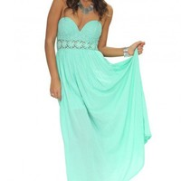 Daydreamer dress in mint green  | Show Pony Fashion online shopping
