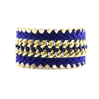 Something Bold Bracelet in Roayl Blue and Cobal