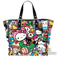 Hello Kitty Tokidoki Shoulder Tote Bag $64.99