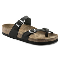 Mayari Oiled Leather Black | shop online at BIRKENSTOCK