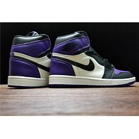 Air Jordan 1 Retro Court Purple