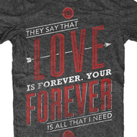 Sleeping With Sirens | Love Is Forever Tee