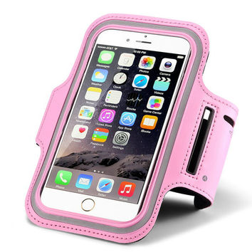 Fashion Workout Arm Band Case For iPhone 6 4.7 Inch Sport Gym Holder Waterproof For Nexus 5 Luxury Casual Jogging Cycling Cover