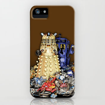 Dalek is The Best Robot in the universe apple iPhone 4 4s, 5 5s 5c, 6, iPod & samsung galaxy s4 case