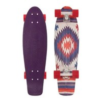 Penny Nickel Holiday Complete Skateboard, 27-Inch, Aztec
