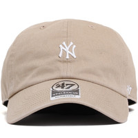 New York Yankees Abate Clean Up Unstructured Strapback Hat Khaki