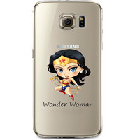 Wonder Woman Jelly Clear Case for Samsung Galaxy S6