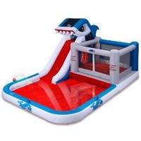Blast Zone Shark Park Inflatable Water Park Bouncer
