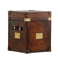 Rustic Leather Trunk | Eichholtz Filippo