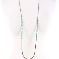 Betsy Pittard Dylan Necklace - Turquoise