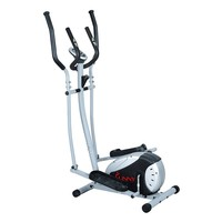 Sunny Health & Fitness Magnetic Elliptical Trainer (Grey)