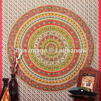 Tapestry Wall Hanging, Hippie Tapestries, Indian Wall Hanging, Bohemian Ethnic Tapestry, Mandala Tapestries,Boho Tapestry, Dorm gypsy decor