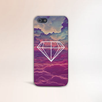 Diamond in the Sky Case for iPhone 5 iPhone 5S iPhone 4 iPhone 4S and Samsung Galaxy S5 S4 & S3